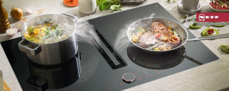 Integrierter Kochfeldabzug Von Neff Siemens Bosch Miele