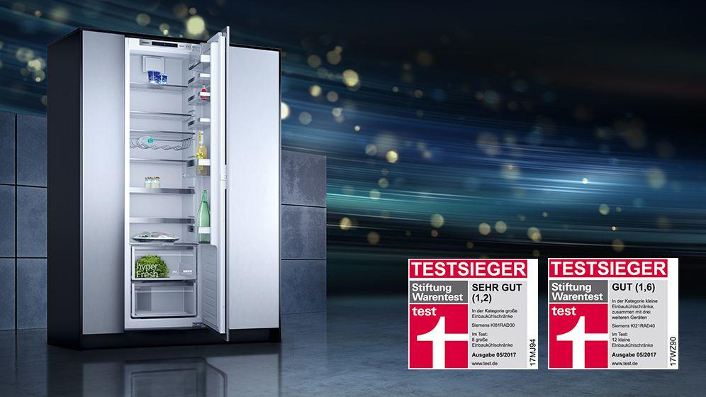 Siemens Kühlschrank Vitafresh : Siemens testsieger siemens bosch miele elektrogeräte